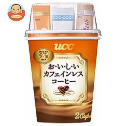 UCC カップコーヒー おいしいカフェインレスコーヒー 2P×30個入