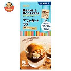 UCC BEANS&ROASTERS(ビーンズロースターズ) アフォガートラテ スティック 5P×24(6×4)箱入
