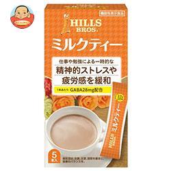 日本ヒルスコーヒー ヒルス ミルクティー GABA配合【機能性表示食品】 12g×5P×36(6×6)箱入