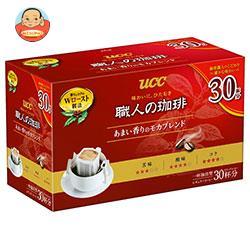 UCC 職人の珈琲 ドリップコーヒー あまい香りのモカブレンド 30P×6箱入