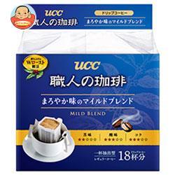 UCC 職人の珈琲 ドリップコーヒー まろやか味のマイルドブレンド 18P×6袋入