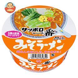 サンヨー食品 サッポロ一番 みそラーメン どんぶり 75g×12個入