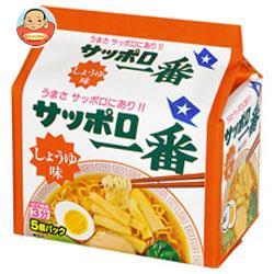 サンヨー食品 サッポロ一番 しょうゆ味 5食パック×6個入