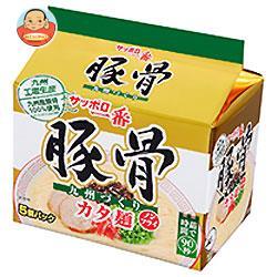 サンヨー食品 サッポロ一番 豚骨 5食パック×6個入