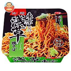 サンヨー食品 サッポロ一番  旅麺 浅草ソース焼そば 109g×12個入
