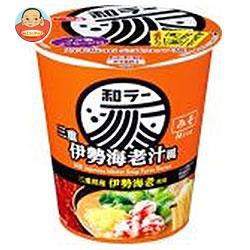 サンヨー食品 サッポロ一番 和ラー 三重 伊勢海老汁風 72g×12個入