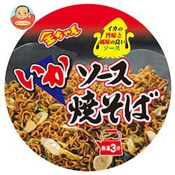 徳島製粉 金ちゃん ソースいか焼そば 134g×12個入