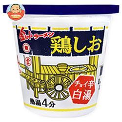 徳島製粉 金ちゃんラーメンカップ 鶏しお 73g×12個入