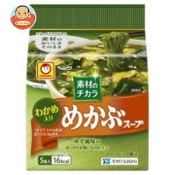 東洋水産 マルちゃん めかぶスープオクラ入り (5.0g×5食)×6袋入