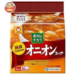 東洋水産 マルちゃん 国産オニオンスープ (7.3g×5食)×6袋入