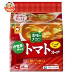 東洋水産 マルちゃん 南欧産トマトスープ (8.4g×5食)×6袋入