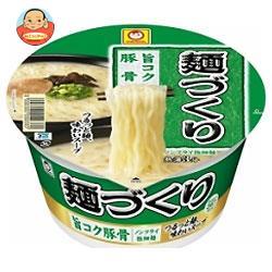 東洋水産 マルちゃん 麺づくり 旨コク豚骨 87g×12個入