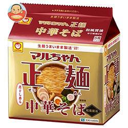 東洋水産 マルちゃん正麺 中華そば 和風醤油 5食パック×6個入