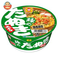 東洋水産 マルちゃん 緑のたぬき天そば(関西) 101g×12個入