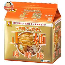 東洋水産 マルちゃん正麺 味噌味 5食パック×6個入