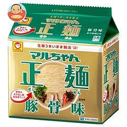 東洋水産 マルちゃん正麺 豚骨味 5食パック×6個入