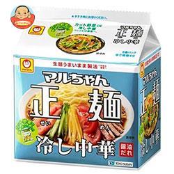 東洋水産 マルちゃん正麺 冷し中華 5食パック×6個入