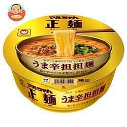 東洋水産 マルちゃん正麺 カップ うま辛担担麺 120g×12個入