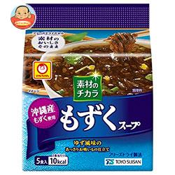 東洋水産 マルちゃん 沖縄産もずくスープ (3.6g×5食)×6袋入