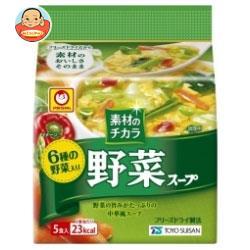 東洋水産 マルちゃん 野菜が美味しいスープ (6.0g×5食)×6袋入