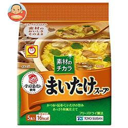 東洋水産 マルちゃん まいたけスープ (4.8g×5食)×6袋入