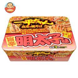 明星食品 一平ちゃん夜店の焼そば 辛子明太子味 126g×12個入