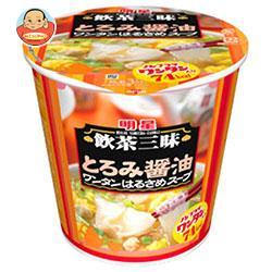 明星食品 飲茶三昧 とろみ醤油 ワンタンはるさめスープ 22g×6個入