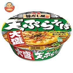 明星食品 旨だし屋 天ぷらそば 大盛(西向け) 116g×12個入