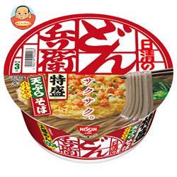 日清食品 日清のどん兵衛 特盛天ぷらそば [西] 142g×12個入