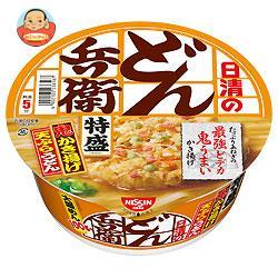 日清食品 日清のどん兵衛 特盛かき揚げ天ぷらうどん 138g×12個入
