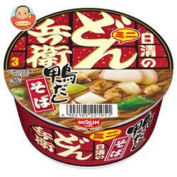 日清食品 日清のどん兵衛 鴨だしそばミニ 46g×24(12×2)個入