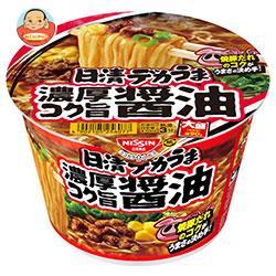 日清食品 日清デカうま 濃厚コク旨醤油 116g×12個入