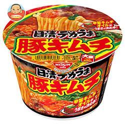 日清食品 日清デカうま 豚キムチ 101g×12個入