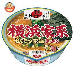 日清食品 麺ニッポン 横浜家系とんこつ醤油ラーメン 119g×12個入