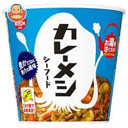 日清食品 日清 カレーメシ シーフード 104g×6個入