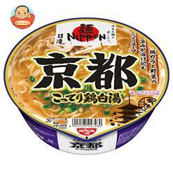 日清食品 麺ニッポン 京都金色鶏白湯ラーメン 114g×12個入