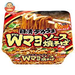 日清食品 日清デカうま Wマヨソース焼そば 153g×12個入
