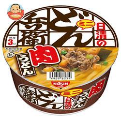日清食品 日清のどん兵衛 肉うどんミニ 40g×24(12×2)個入