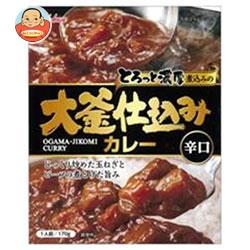 ハウス食品 大釜仕込みカレー 辛口 170g×30個入