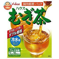 ハウス食品 むぎ茶 (冷水用) 144g×20箱入