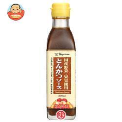 ハグルマ 国産野菜・果実使用とんかつソース 200ml瓶×12本入