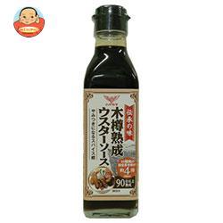 ハグルマ 伝承の味 木樽熟成ウスターソース 200ml瓶×12本入