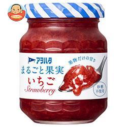 アヲハタ まるごと果実 いちご 125g瓶×12個入