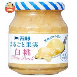アヲハタ まるごと果実 白桃 250g瓶×6個入
