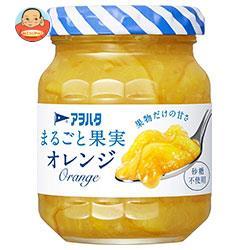 アヲハタ まるごと果実 オレンジ 125g瓶×12個入