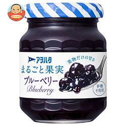 アヲハタ まるごと果実 ブルーベリー 125g瓶×12個入