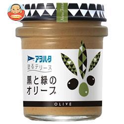 アヲハタ 塗るテリーヌ 黒と緑のオリーブ 73g瓶×6個入
