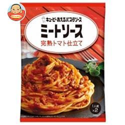 キューピー あえるパスタソース ミートソース 完熟トマト仕立て (80g×2袋)×6袋入