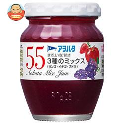 アヲハタ 55 3種ミックス(リンゴ・イチゴ・ブドウ) 150g瓶×12個入