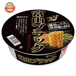 寿がきや 全国麺めぐり 富山ブラックラーメン 108g×12個入